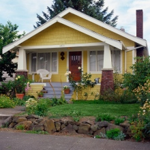 yellow bungalow