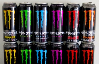 Monster Beverage Cans