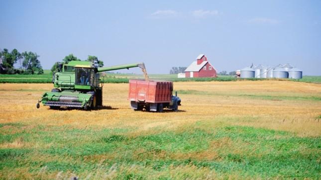 North Dakota, Farm, Tractor