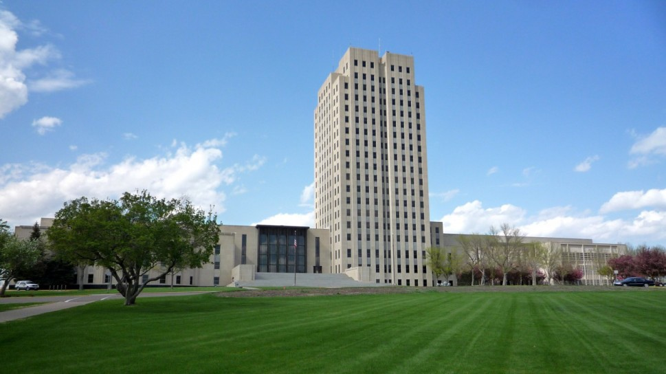 State Capitol, Bismarck, North Dakota
