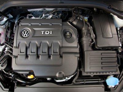 VW Golf TDI engine