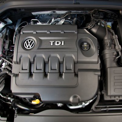 VW Golf TDI engine