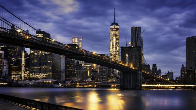 New York City, Brooklyn Bridge, New York