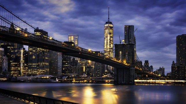 New York City, Brooklyn Bridge, New York