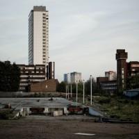 Shrinking city, abondoned