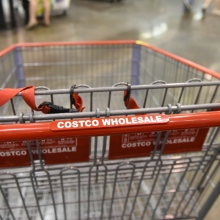 Costco shopping cart