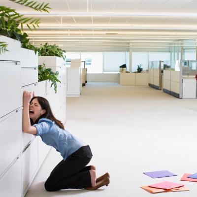 office meltdown