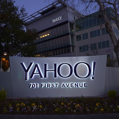Yahoo marquee