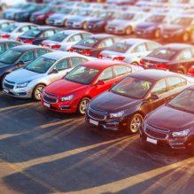 Car lot square