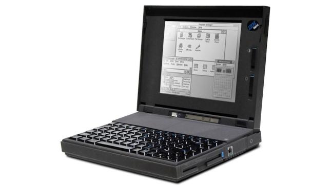IBM Thinkpad Notebook, 1992