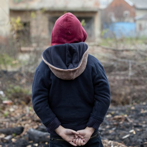poverty, poor, young boy, hoodie