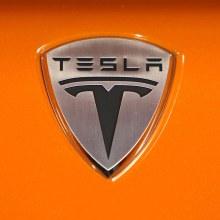 Tesla badge