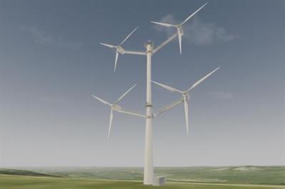 Vestas 4-rotor tower