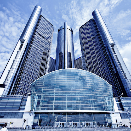 GM Hedquarter in Detroit