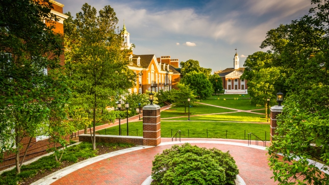 Johns Hopkins, Maryland