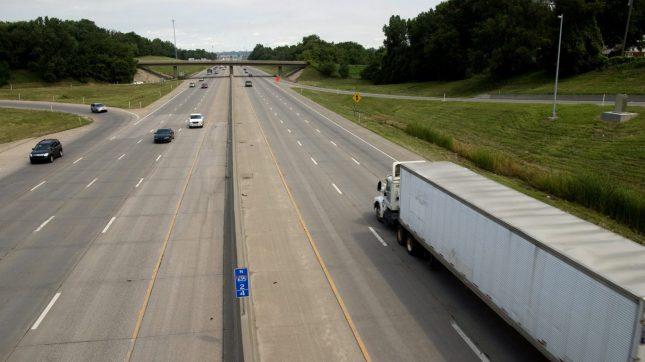 Kansas freeway
