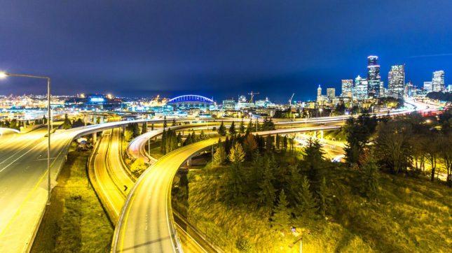 Seattle, Washington roads