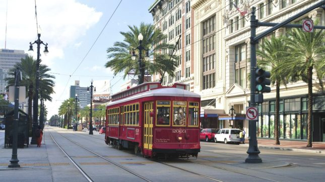Street car, New Orleans, Louisiana