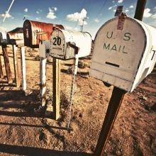old mailboxes