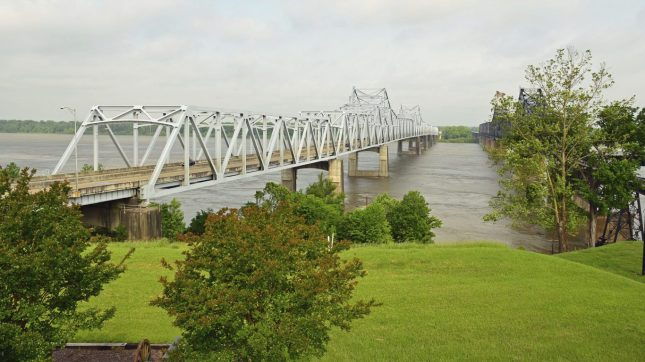 Vicksburg Bridge, Mississippi