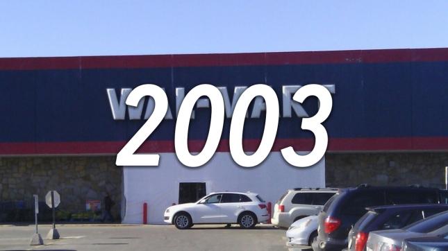 Walmart, 2003
