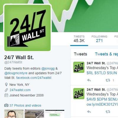 24/7 Wall St. Twitter