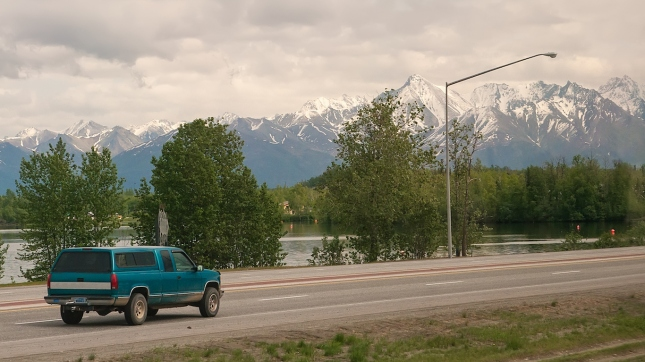 Mountain Views in Wasilla, Alaska