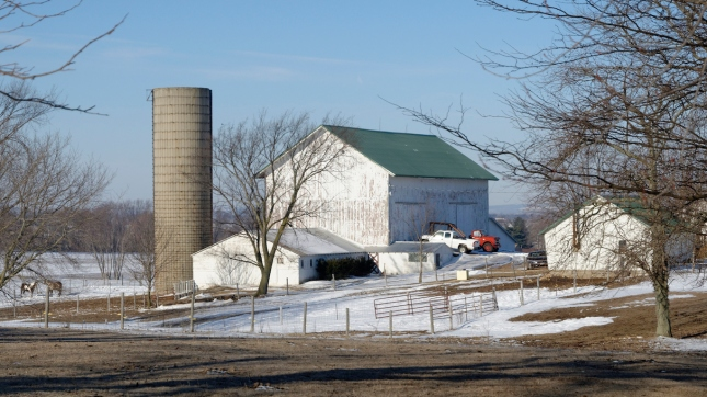 White Barn and Silo, Wisconsin