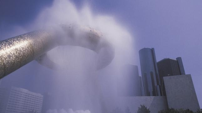 Fountain, Detroit, Michigan