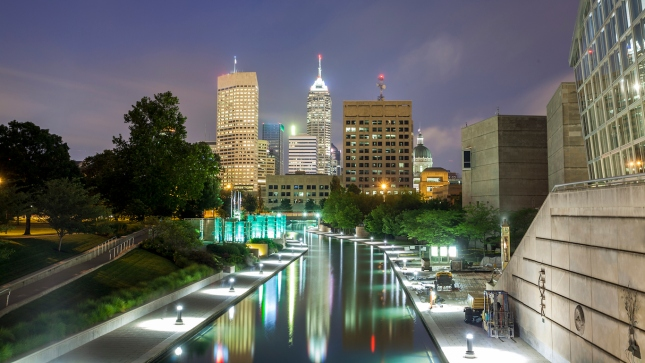 Indianapolis Downtown, Indiana, USA