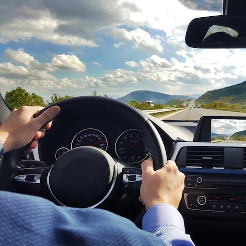 Car Dashboard driving