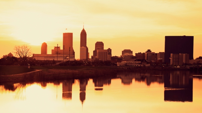 Indianapolis at sunrise