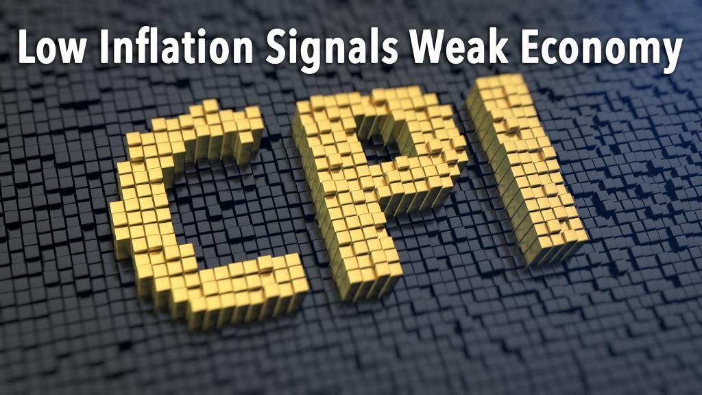 Low Inflation Signals Weak Economy