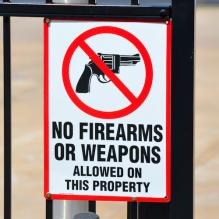 No Firearms Allowed