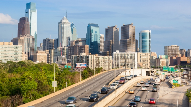 Philadelphia skyline - Pennsylvania - USA United States of America