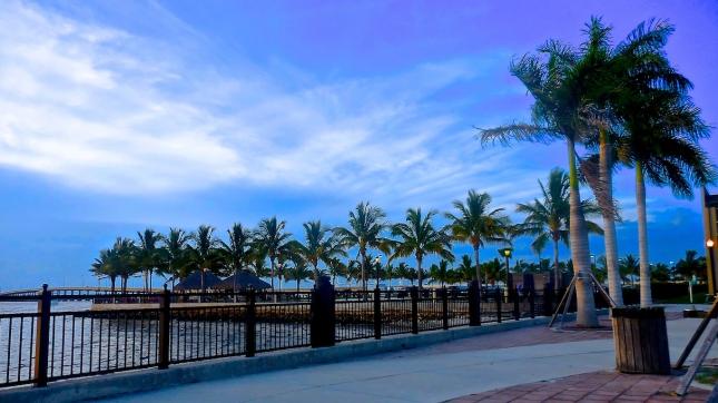 Harbor walk on Charlotte Horbor in Punta Gorda, FL