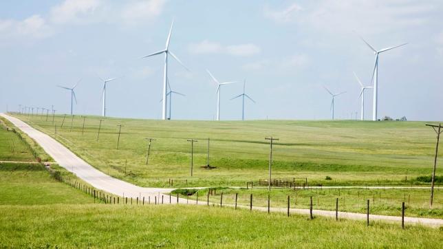 Wind farm, Kansas