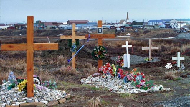 Nome, Alaska cemetery