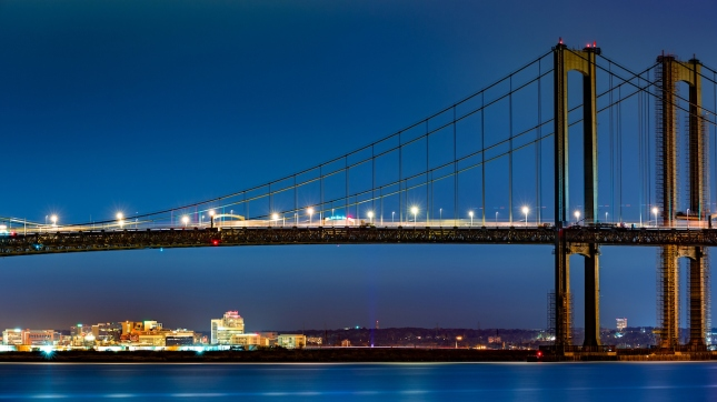 Wilmington, Delaware Memorial Bridge
