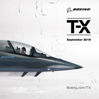 Boeing T-X peek