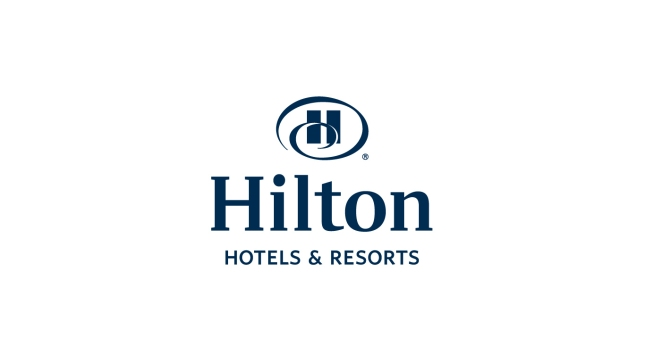 Hilton brand logo Hotels & Resorts