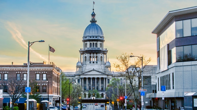 Springfield, Illinois State Capitol Building