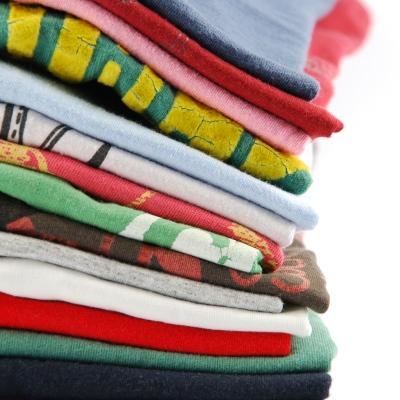 pile of tee shirts
