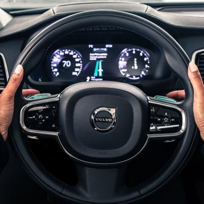 Volvo driverless Uber