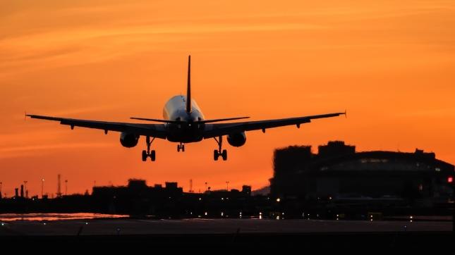 Airplane Sky Harbor Airport, Arizona