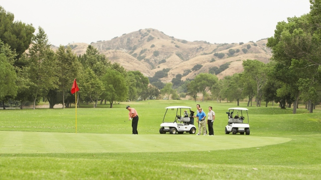 Corona, California golf
