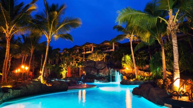 Tropical Resort Hawaii Accomodations