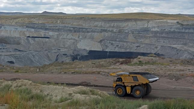 Coal Mine Dump Truck, Wyoming