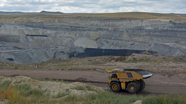 Coal Mine Dump Truck, Wyoming