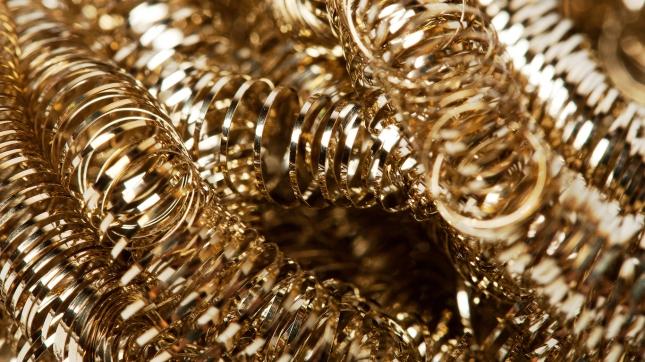 Scrap gold Shavings